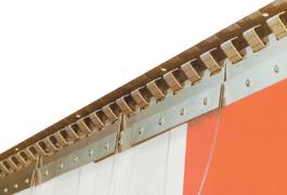 Heavy Gauge Stainless Steel Hanging Track